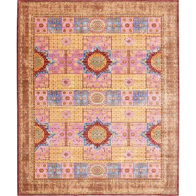 Bradford Cream Area Rug Rug Size: Rectangle 7 x 910