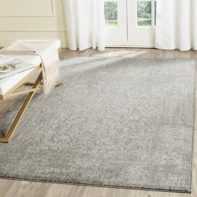 Elson Gray/Beige Area Rug Rug Size: Runner 22 x 9