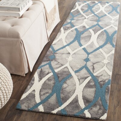 Castries Hand-Tufted Area Rug Rug Size: Runner 23 x 14