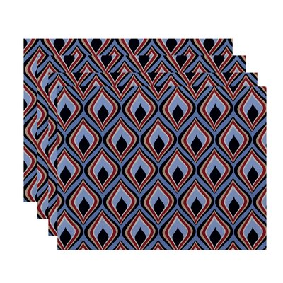 Bungalow Rose Shivani Geometric Placemat