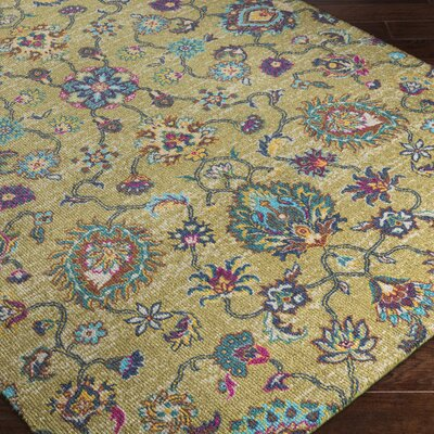 Emmie Yellow Area Rug Rug Size: Rectangle 2 x 29