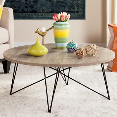 Ravella Coffee Table Top Finish: Lacquer White