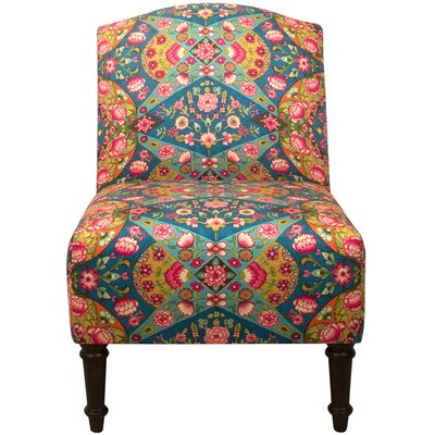 Karina Fabric Camel Back Chair Side Chair