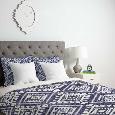 Carlsbad Denim Duvet Cover Size: Queen