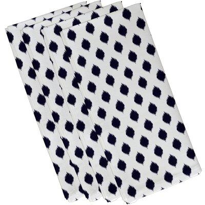 Sabrina Geometric Napkin Color: Spring Navy, Size: 19