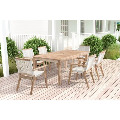 Oleana 7 Piece Dining Set