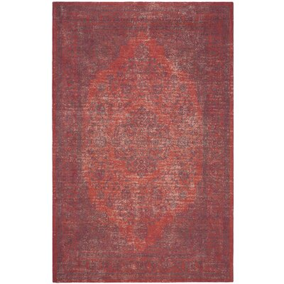 Thompson La Foa Red Area Rug Rug Size: Rectangle 10 x 14