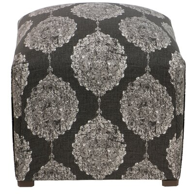 Edmore Ottoman Color: Black