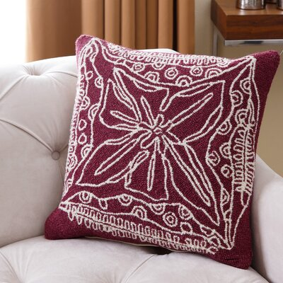 Lelystad Wool Throw Pillow