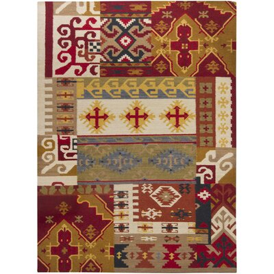 Gupta Hand Woven Rectangle Traditional Area Rug
