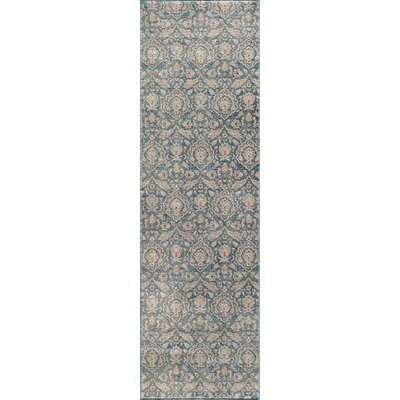 Scarlett Blue Area Rug Rug Size: Rectangle 93 x 126