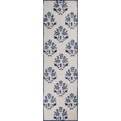 Aliyah Hand-Tufted Blue Area Rug Rug Size: Runner 23 x 8