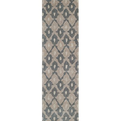 Allen Hand-Tufted�Sand Area Rug Rug Size: Rectangle 8 x 10