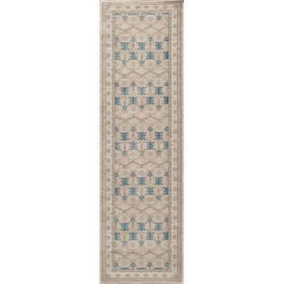 Scarlett Taupe Area Rug Rug Size: Rectangle 311 x 57
