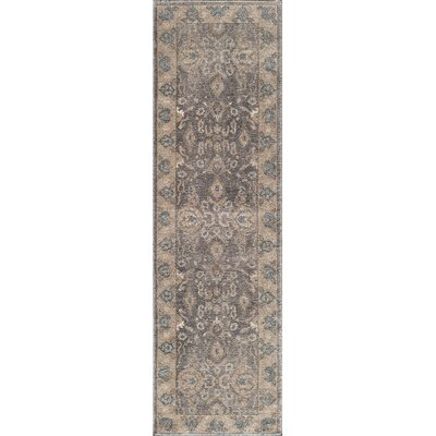Scarlett Silver Area Rug Rug Size: Rectangle 93 x 126