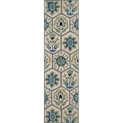 Aliyah Hand-Tufted�Blue Area Rug Rug Size: Runner 2'3