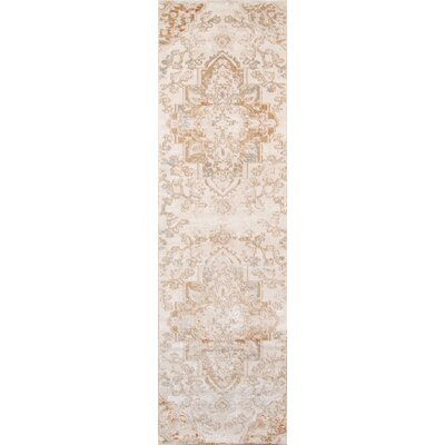 Damien Natural Area Rug Rug Size: Runner 23 x 76