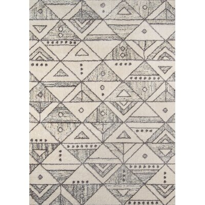 Danny Ivory Area Rug Rug Size: Rectangle 93 x 126