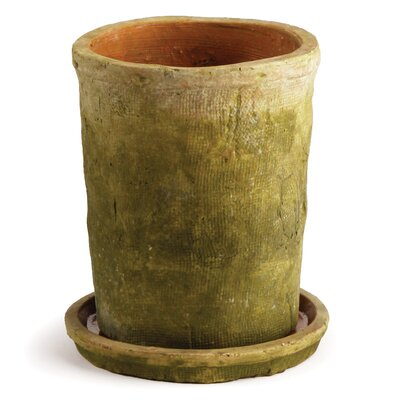 Arcola Ceramic Pot Planter with Saucer (Set of 2)