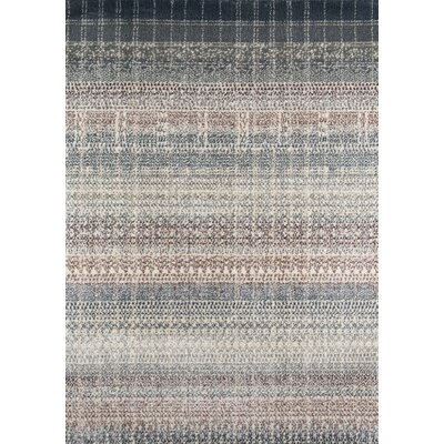 Daisie Gray Area Rug Rug Size: Rectangle 53 x 76