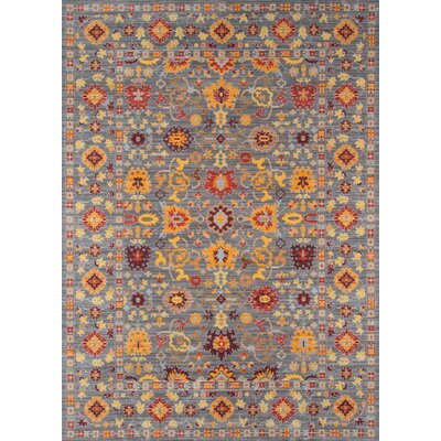 Alicia Gray Area Rug Rug Size: Rectangle 23 x 39