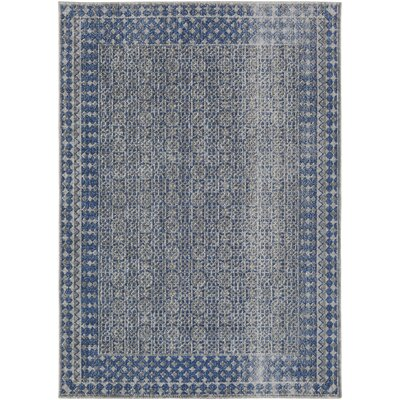 Fredonia Blue Area Rug Rug Size: Rectangle 2 x 3