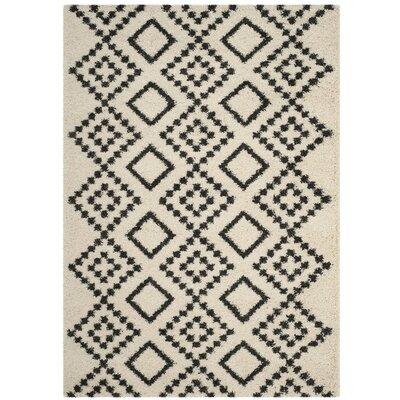 Caldwell Beige/Black Area Rug Rug Size: 8 x 10