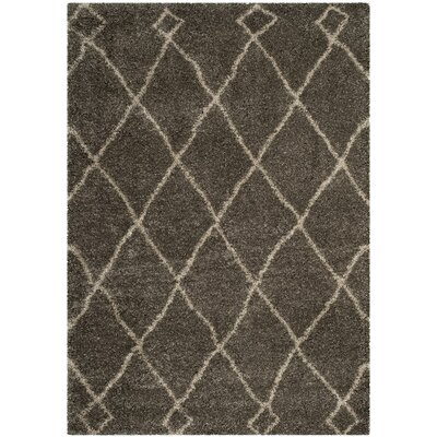 Hester Gray/Beige Area Rug Rug Size: Rectangle 3 x 5