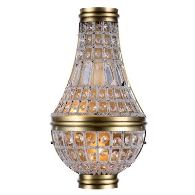 Moreland  2-Light Empire Chandelier Finish: French Gold