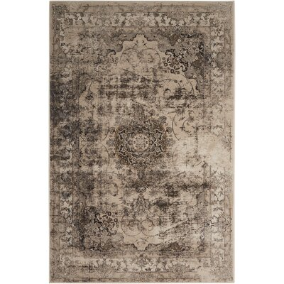 Saavedra Smoke Area Rug Rug Size: Rectangle 710 x 106