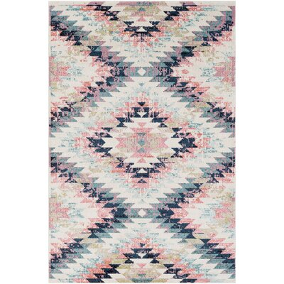 Nichole Pink Area Rug Rug Size: Rectangle 2 x 3