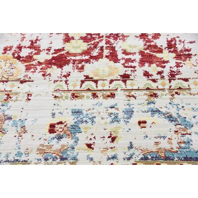 Danbury Red Area Rug Rug Size: 9 x 12