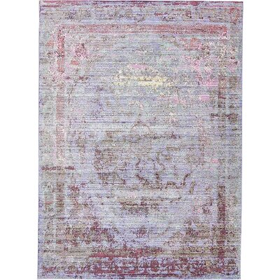 Bradford Violet Area Rug Rug Size: Rectangle 6 x 9