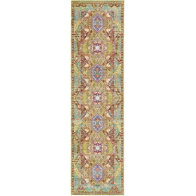 Danbury Multi-Colored Area Rug Rug Size: 5 x 8