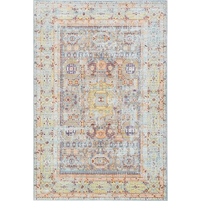 Rune Light Blue Area Rug