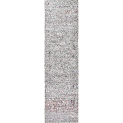 Rune Gray Area Rug Rug Size: Runner 27 x 910