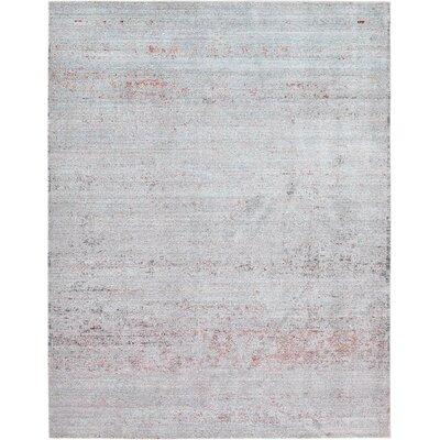 Rune Gray Area Rug Rug Size: 9' x 12'