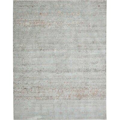 Rune Gray Area Rug Rug Size: 10 x 13