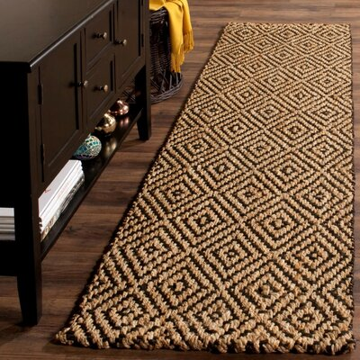 Grassmere Hand-Woven Area Rug Rug Size: Runner 23 x 16