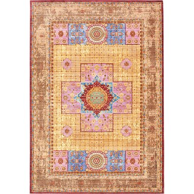 Bradford Cream Area Rug Rug Size: Rectangle 6' x 9'