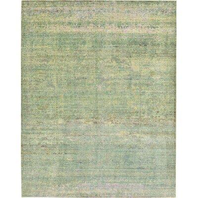 Rune Green Area Rug Rug Size: 9' x 12'