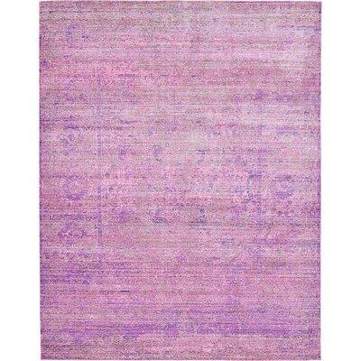 Rune Purple Area Rug Rug Size: 9' x 12'