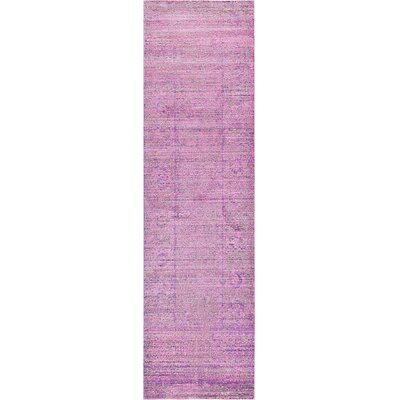 Rune Purple Area Rug Rug Size: Runner 2'7