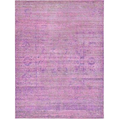 Rune Purple Area Rug Rug Size: 7' x 10'