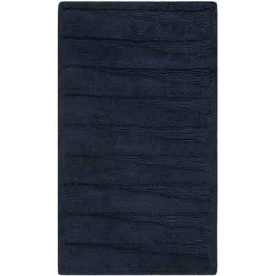 Chamblee Mat Size: 21 H x 34 W, Color: Navy / Navy
