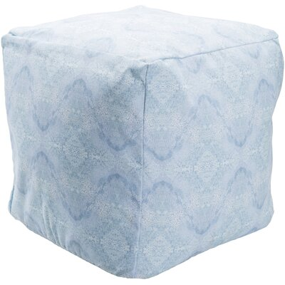 Amrita Pouf Upholstery: Blue