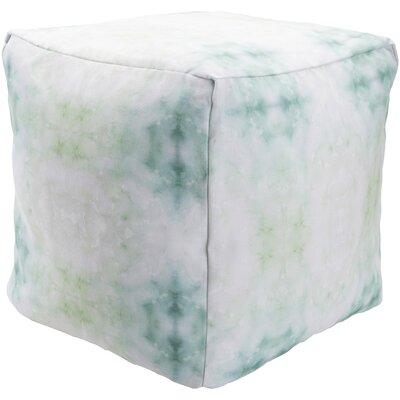 Amrita Pouf Ottoman Upholstery: Green