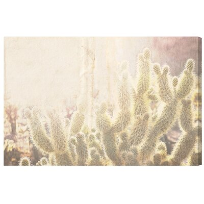 'Cactus' Photographic Print on Wrapped Canvas Size: 10