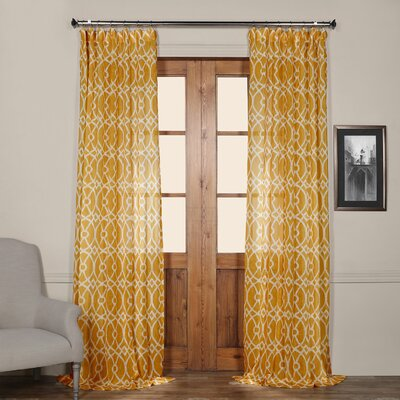 Wylie Sheer Single Curtain Panel