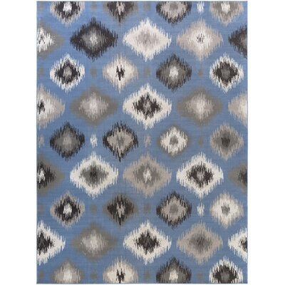 Clementina Gray/Blue Area Rug Rug Size: Rectangle 711 x 11